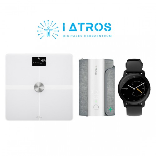 Withings BPM Connect + Withings Body Plus + Withings Move + iATROS Service