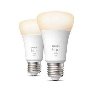 Philips Hue White E27 Bluetooth 2er-Set - LED-Lampe