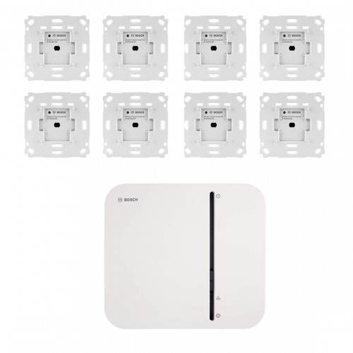Bosch Smart Home Controller + Rollladensteuerung Unterputz 8er-Set