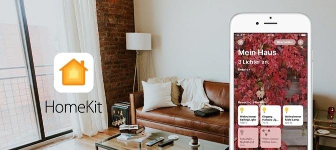 Apple HomeKit Systemwelt