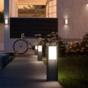 Philips Hue Garten Starter Set Turaco Sockelleuchte + Google Home Mini