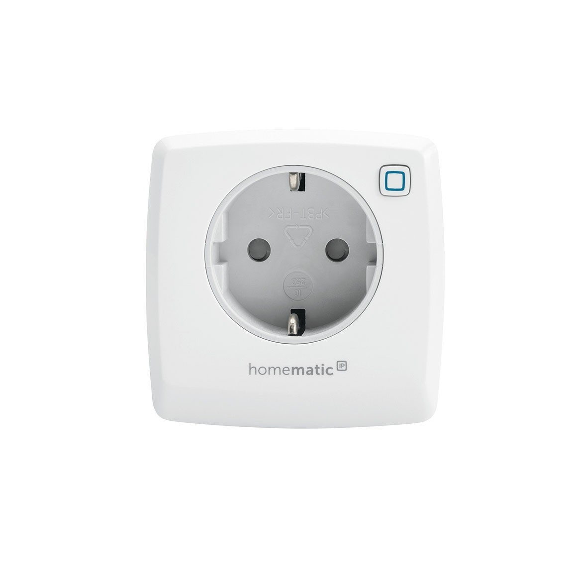 Homematic IP Schalt-Mess-Steckdose frontal
