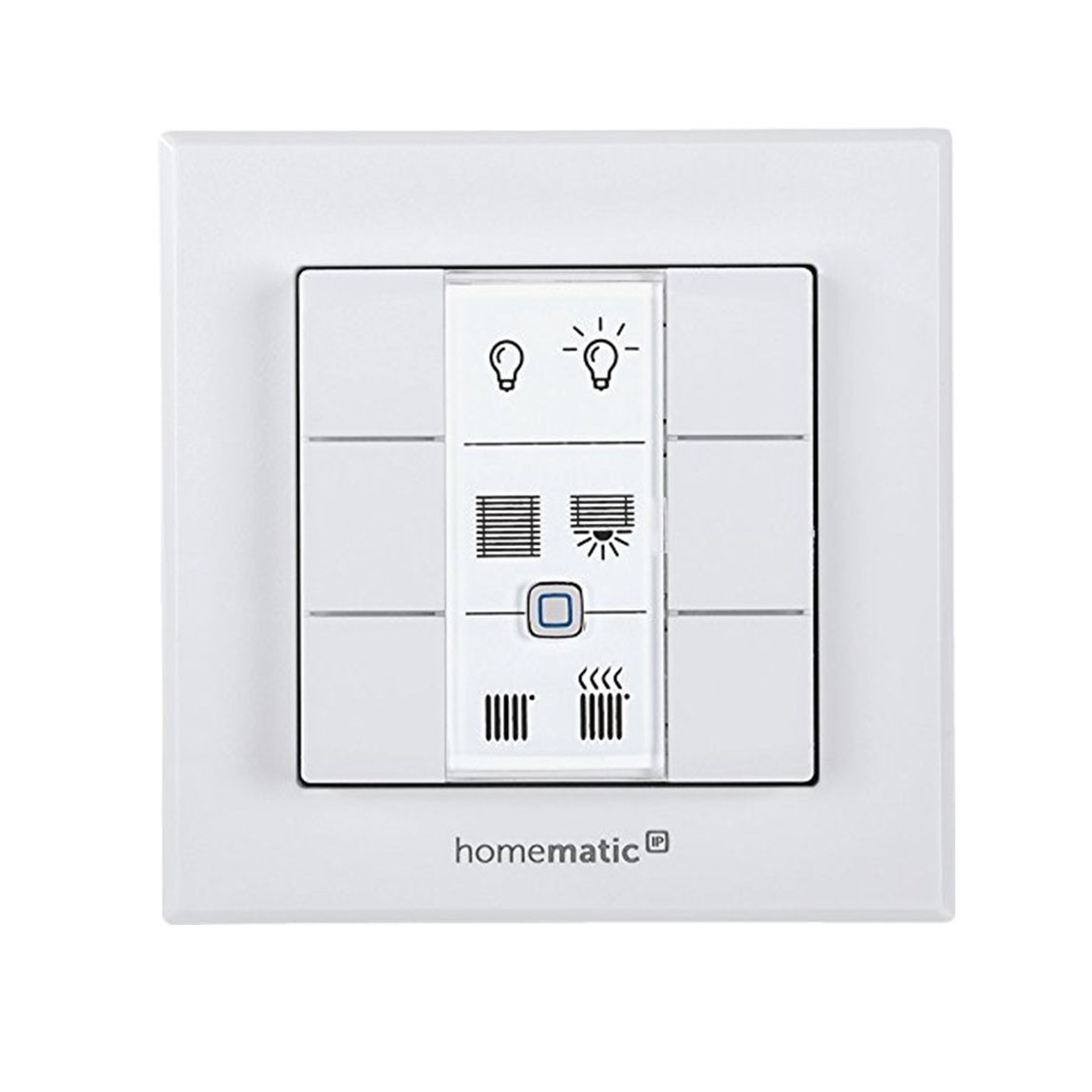 Homematic IP Wandtaster 6-fach - weiß