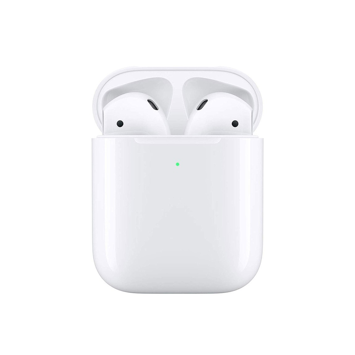 Apple AirPods 2 - In-Ear Kopfhörer mit kabellosem AirPod Ladecase