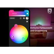 Philips Hue Color Starter Set lite - 2 Color E27 Lampen, Bridge, Dimmschalter