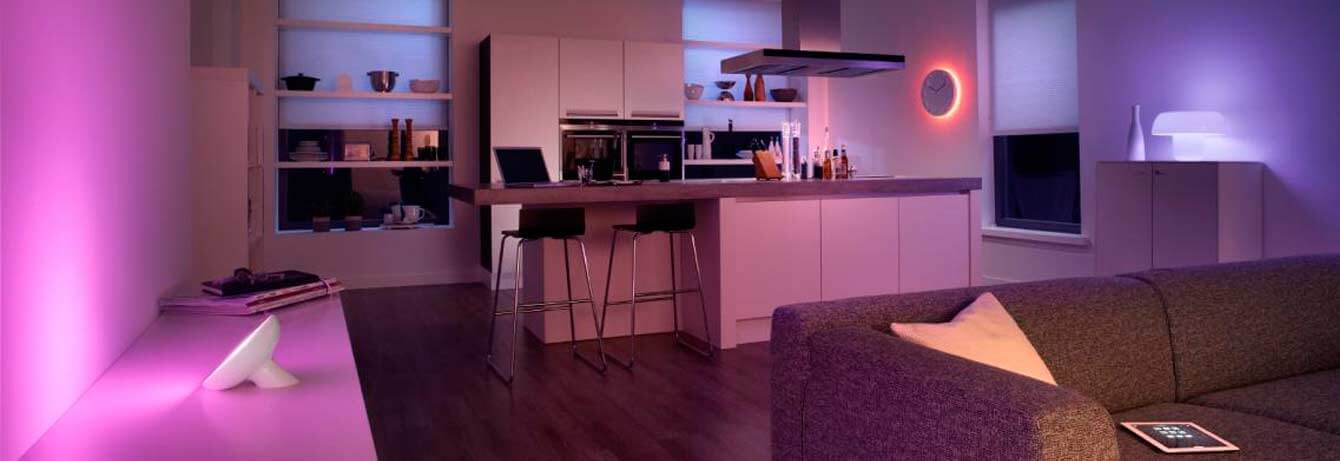 philips hue dein smartes beleuchtungssystem online kaufen tink. Black Bedroom Furniture Sets. Home Design Ideas