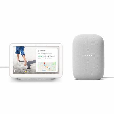 Google Nest Audio + Google Nest Hub um 129,95€ anstatt 168€