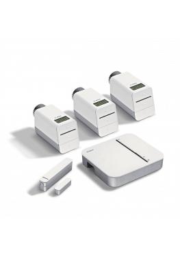 Bosch Starter Set Heizung mit 3 Thermos und 1 Tür-/Fensterkontakt