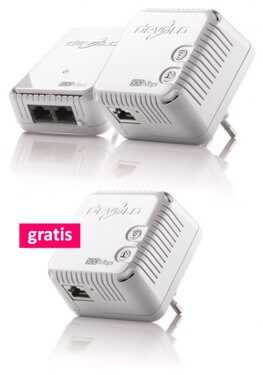 devolo 500 Wifi Starter Kit + Gratis 500 Wifi Adapter