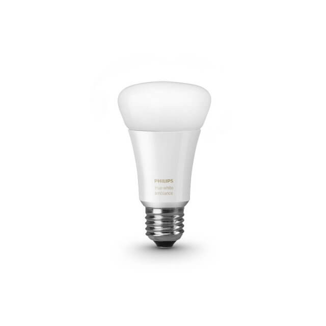 Philips Hue White Ambience E27 LED-Lampe in weiß