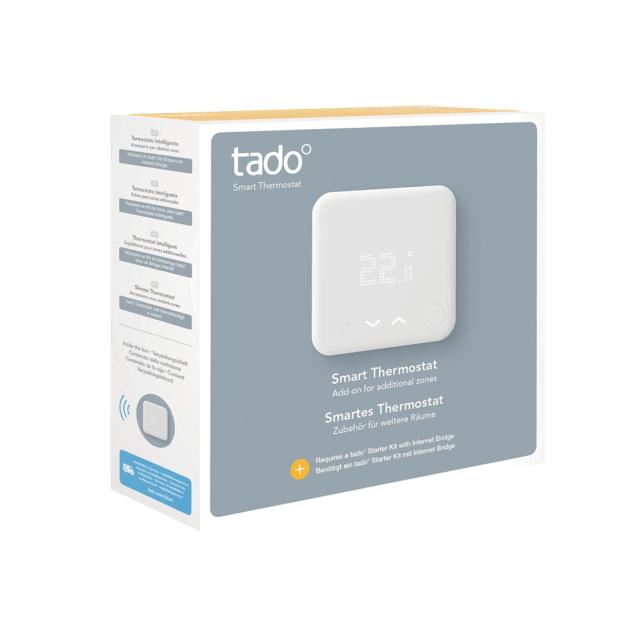 tado° smartes Thermostat für Heizkörper und Fußbodenheizung - Verpackung