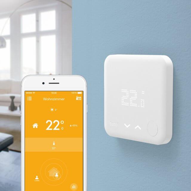 tado° smartes Thermostat für Heizkörper und Fußbodenheizung im Einsatz