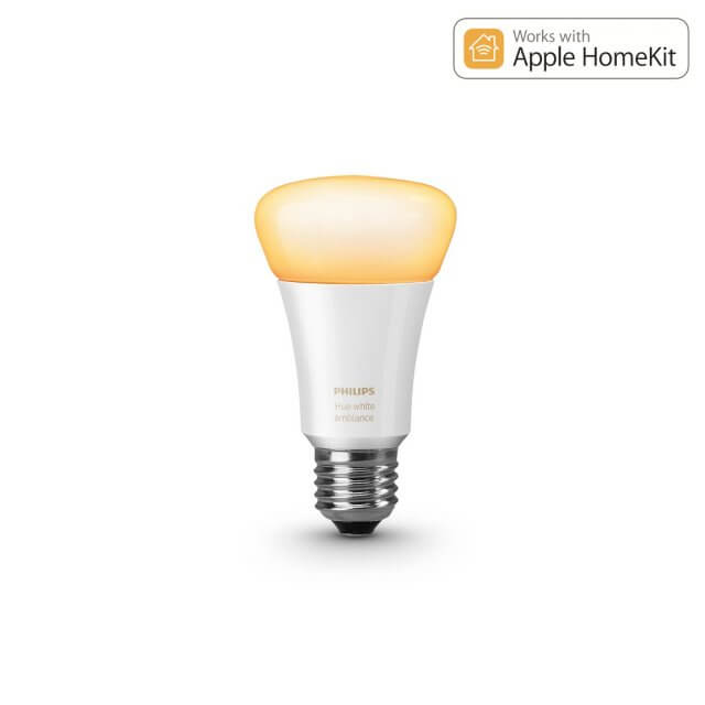 Philips Hue White Ambience E27 LED-Lampe in gelb