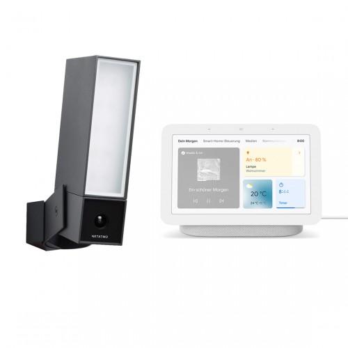 Netatmo Smarte Außenkamera + Google Nest Hub
