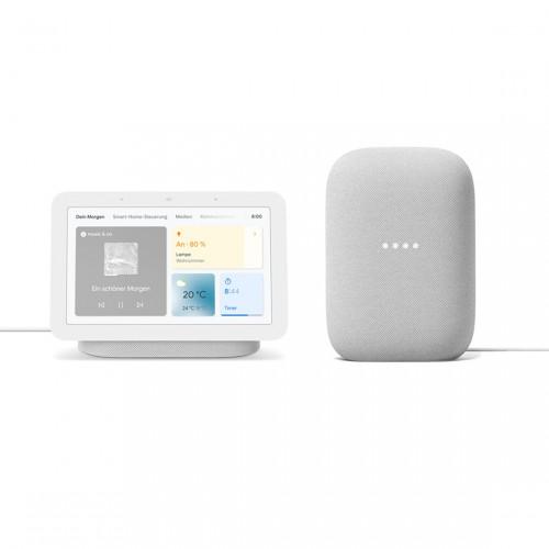 Google Nest Audio + Google Nest Hub