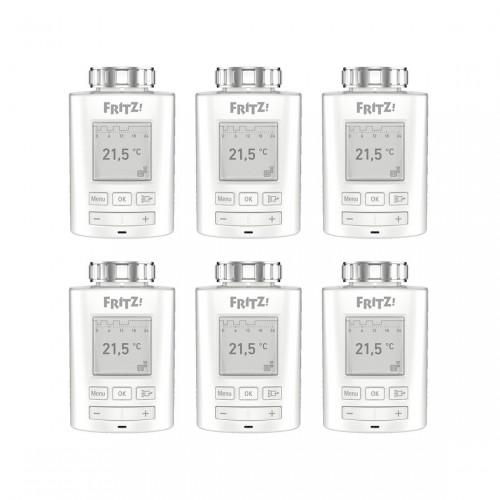 AVM FRITZ!DECT 301 6er-Pack - Smarte Heizkörper-Thermostate
