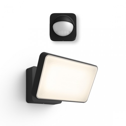 Philips Hue LED Flutlicht Welcome + Philips Hue Outdoor Sensor