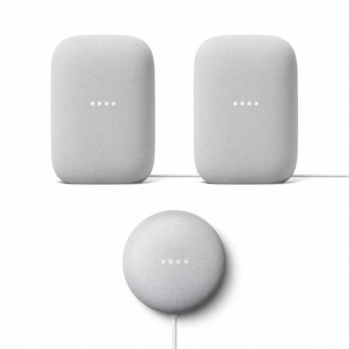 Google Nest Audio Stereo-Set + gratis Google Nest Mini um 195€ anstatt 236€