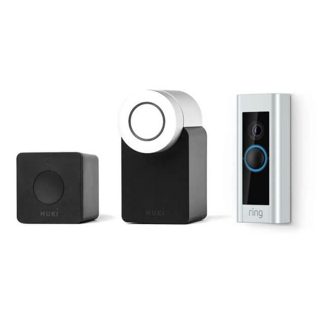 Ring Video Doorbell Pro + Nuki Smart Lock & Bridge