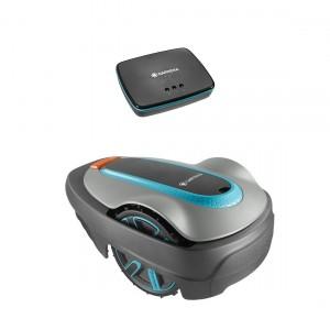 Gardena Mähroboter smart SILENO city 500 Set mit Gateway