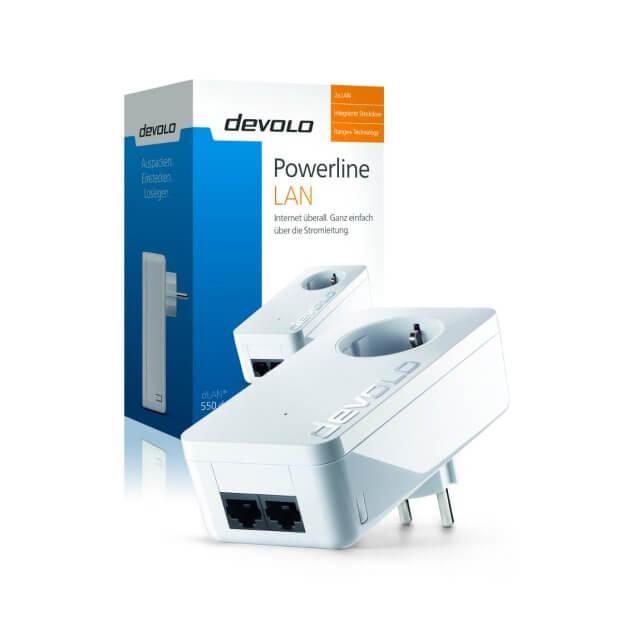 devolo dLAN 550 duo+ - Powerline Adapter