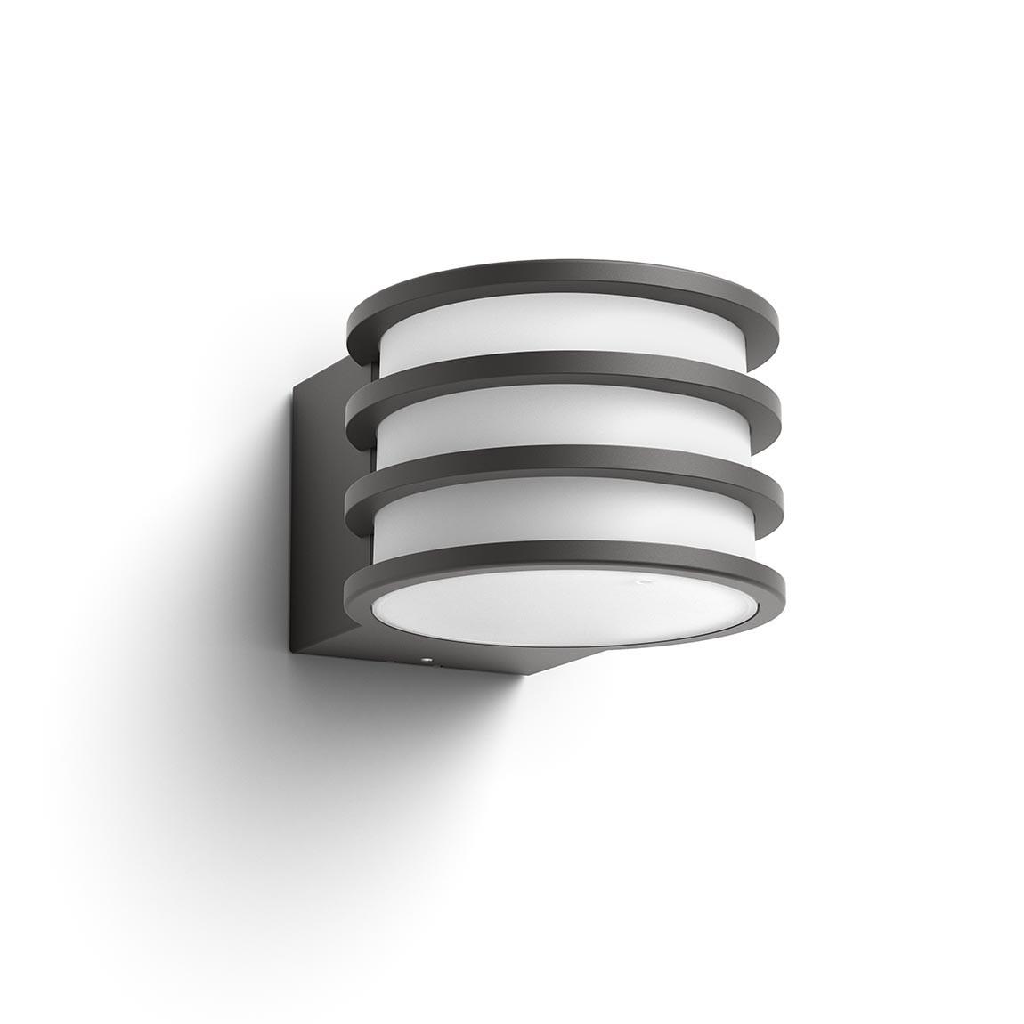 Philips Hue LED Lucca Wandleuchte - Anthrazit Produktbild