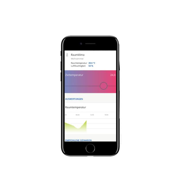 innogy SmartHome Heizkörperthermostat App