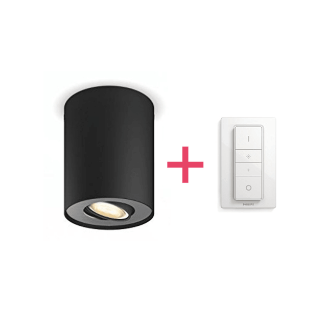 Philips Hue Pillar LED 1-er Spot 250lm inkl. Dimmschalter