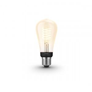 Philips Hue White Filament Edison E27 Bluetooth - Filament-Lampe eingeschaltet