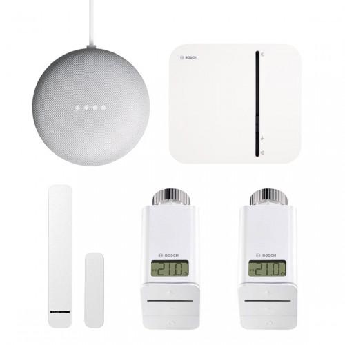 Bosch Smart Home - Starter Set Raumklima + Google Nest Mini
