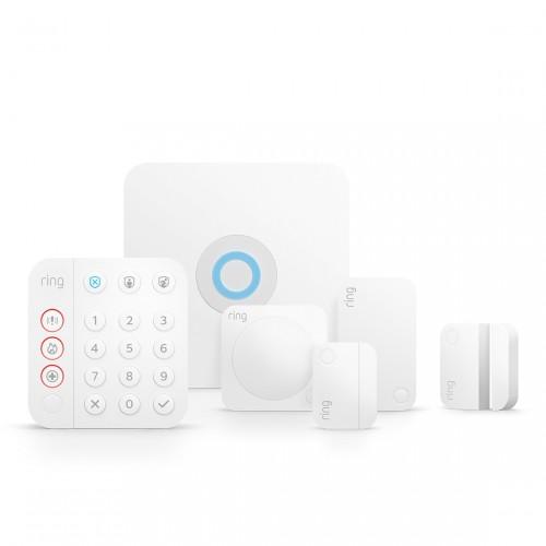 Ring Alarm 2.0 Sicherheitssystem - Komplett-Set + gratis Tür-/Fensterkontakt
