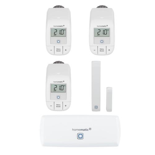 Homematic IP Starter Set Raumklima WLAN + 2 Thermostate - basic