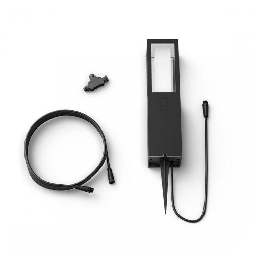 Philips Hue LED Sockelleuchte Impress + Erweiterung für Niedervolt-System komplettes Set