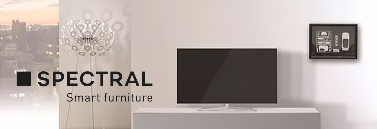 spectral smart furniture mit logo