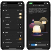 Philips Hue LED Wegeleuchte Tuar & Philips Hue LED Wandleuchte Tuar + Philips Hue Bridge