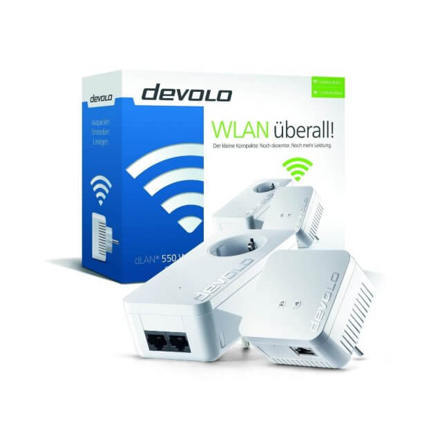 devolo dLAN 550 WiFi - Starter Kit Powerline
