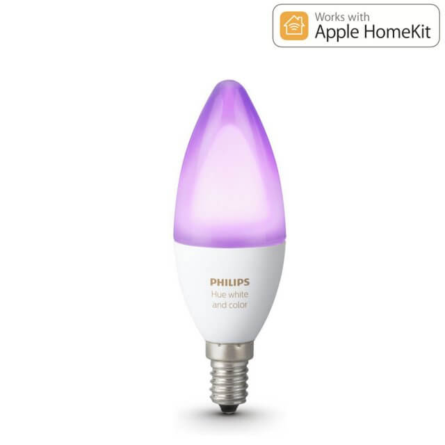 Philips Hue White and Color Ambiance LED E14 Erweiterung RGBW 6,5W