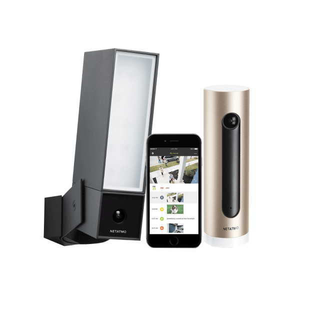 Netatmo Kamera-Set - Presence Outdoor & Welcome Innen